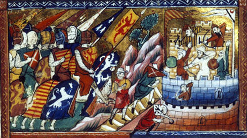 Attack on Antioch, June 1098, from William of Tyre