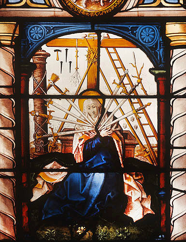 Our Lady of Sorrows, 1551, panel originally from Herchenrode, now in St Mary