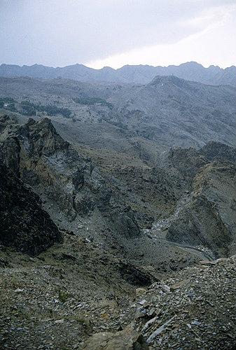 Afghanistan, barren landscape