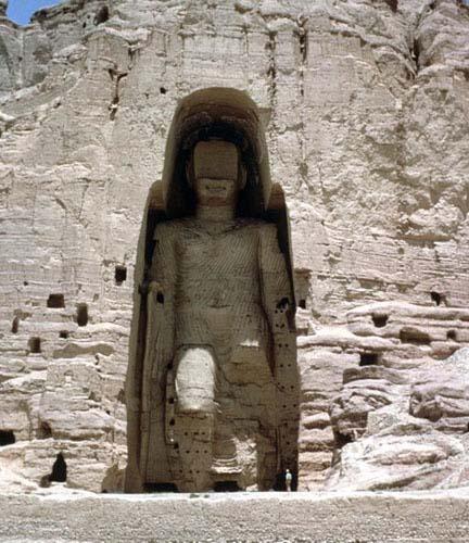 Great Buddha, Bamiyan, Afghanistan