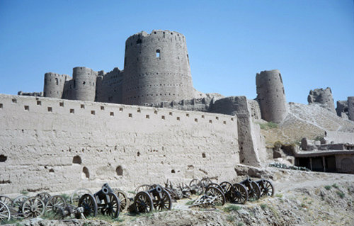 Afghanistan, Herat, the 15C fort