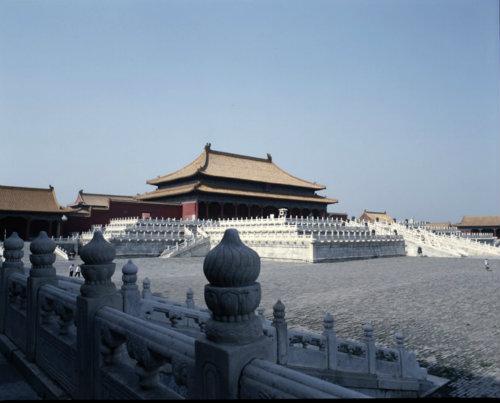China Beijing, Forbidden City, Imperial Palace, Hall of Supreme Harmony, Tai Ho Tien