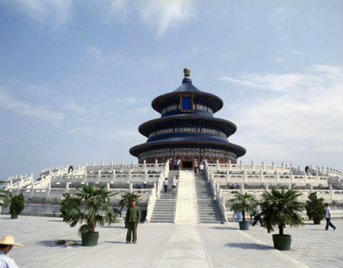 China Beijing, Temple of Heaven, Tian Tan