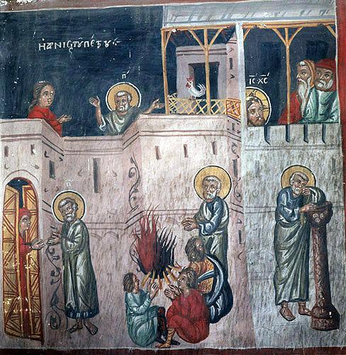Cyprus, Galata, Church of St Sozomenus, Peter