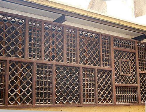 Mashrabiyya screen, Gayer-Anderson Museum, Cairo, Egypt