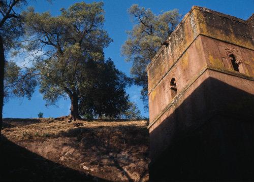 Ethiopia Lalibela rock-cut church of St George
