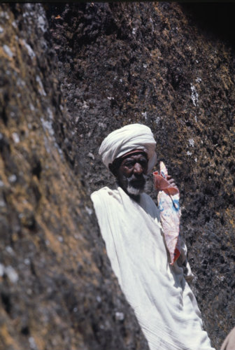 Ethiopia Lalibela Priest