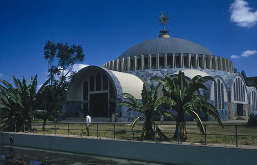 Ethiopia Axum the new Cathedral