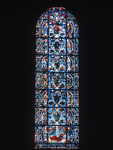 Tree of Jesse, twelfth century, Chartres Cathedral, France