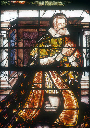 Marechal de Montigny, donor of the Chapel of the Holy Font, seventeenth century, Bourges Cathedral, France