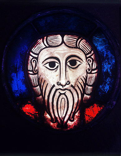 Head of Christ, 1050-70, Strasbourg Museum, Germany