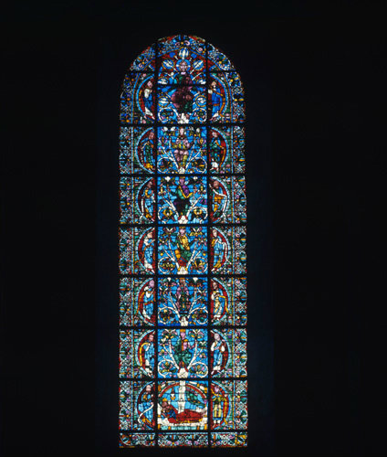 Chartres Cathedral  the Jesse window West End 12th century France