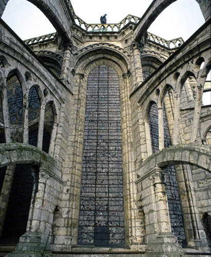 Chartres Cathedral Flying Buttresses Of The South Choir