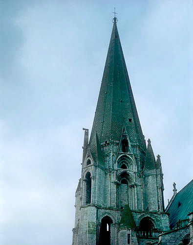 South spire, Chartres Cathedral, France