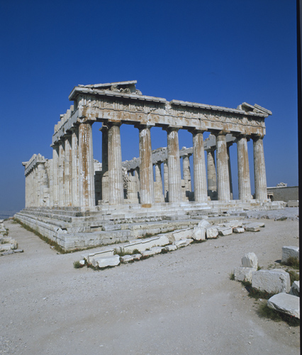 Parthenon, east front and south side, Acropolis, 5th century BC, Athens, Greece