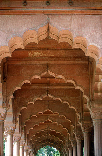 Red Fort, begun 1526 by first Mughal emperor, completed by Shah Jahan, Delhi, India