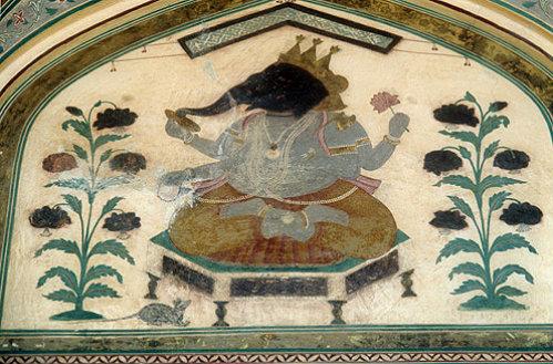 Elephant, Amber Fort, Jaipur, India