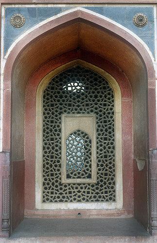 Tomb of the Mughal Emperor, Humayun, built 1665, Delhi, India
