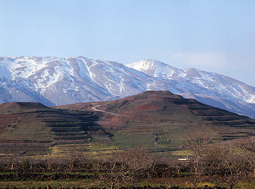 Israel, Mount Hermon probably the Place of the Transfiguration