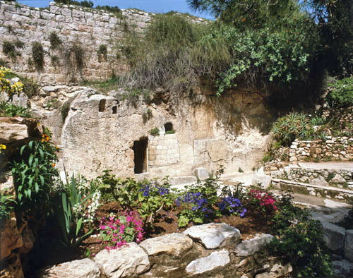 Israel, Jerusalem, The Garden Tomb