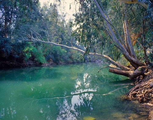 Israel, the River Jordan, south of the Sea of Galilee