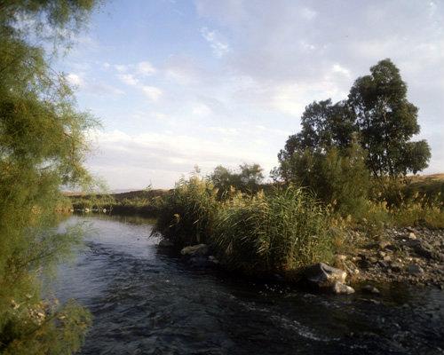 Israel, river Jordan south of Galilee