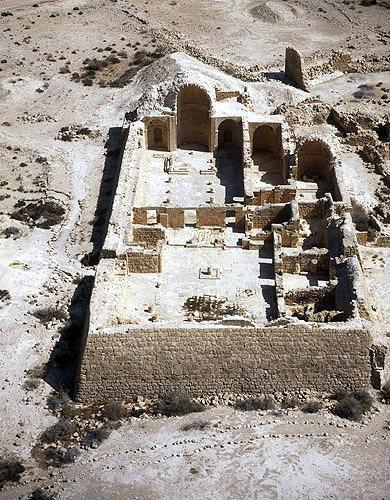 Shivta National Park – ancient Nabatean city Shivta in Negev