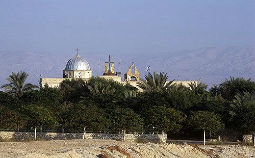 St Gerasimos Monastery near Jericho, Israel