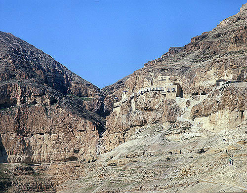 Monastery of Temptation, near Jericho, Israel