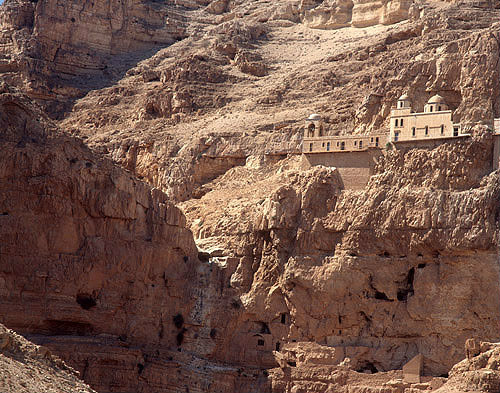 Israel, Jericho, the Monastery of Temptation, occupied by the Greek Orthodox Church since 1874