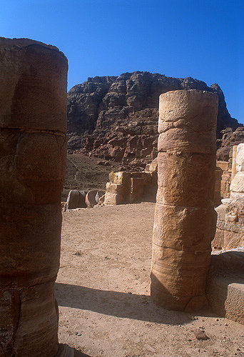 Temple of Winged Lions, Petra, Jordan