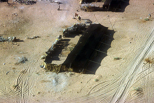 Tent of settled bedouin, Wadi Rum, Jordan