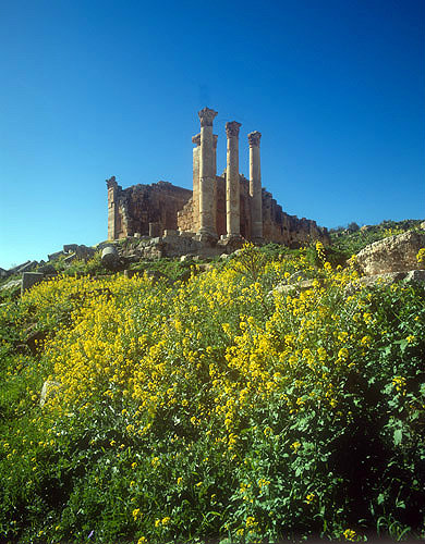 Temple of Zeus, Hellenistic period, first century, Jerash, Jordan