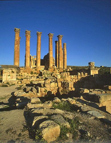 Temple of Artemis, Hellenistic period, Jerash, Jordan