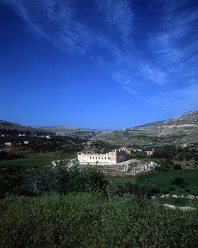 Palace build by Tobiads, Jewish faction at beginning of Maccabean period, second century BC, Iraq al-Amir, Jordan