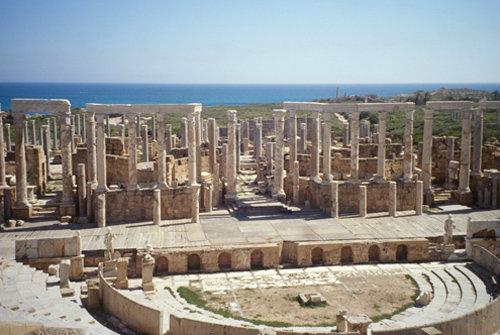 Libya Leptis Magna, the theatre 1st century AD