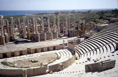 Theatre, 1st century AD, Leptis Magna, Libya