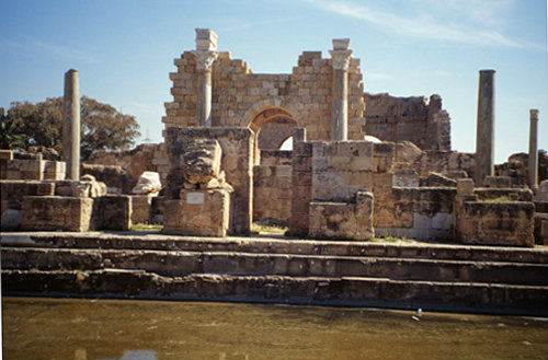 Libya Leptis Magna, the Hadrianic Baths 2nd century AD