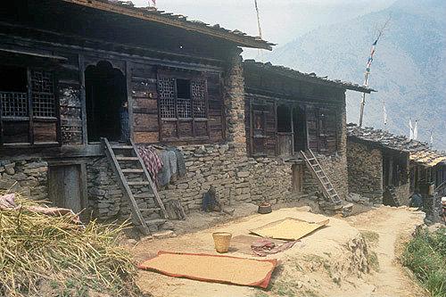 Sherpa houses, Nepal