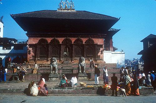 Shiva Parvati Temple, late seventeenth century, Kathmandu, Nepal