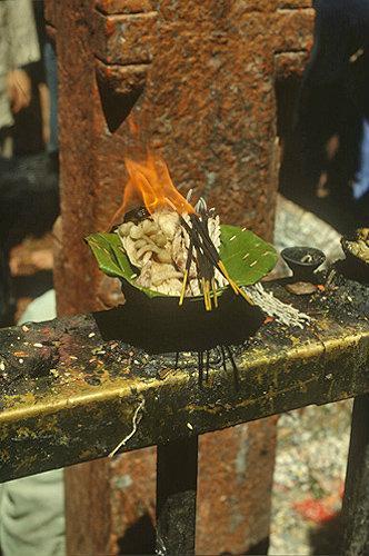 Buddhist fire sacrifice, Nepal