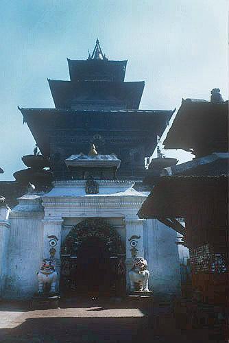 Taleju Temple, sixteenth century, dedicated to goddess Taleju Bhuwani, Khatmandu, Nepal