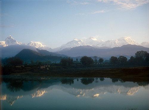 Machapuchare, Annapurna 3, 4 and 2, Lamjung Himal