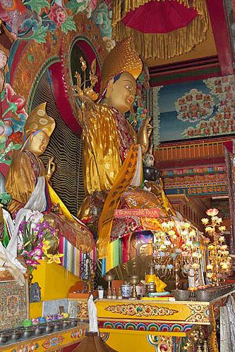 Buddha, Kopan Tibetan Buddhist monastery, Kathmandu, Nepal