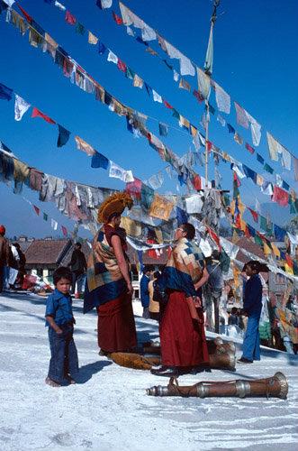 Nepal Boudhanath Buddhist New Year Festival
