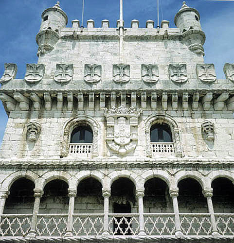 Belem Tower, south façade, sixteenth century, Lisbon, Portugal
