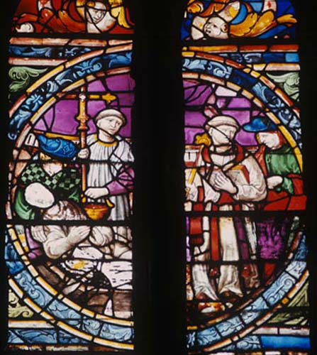 Triforium roundel, Toledo Cathedral, Spain