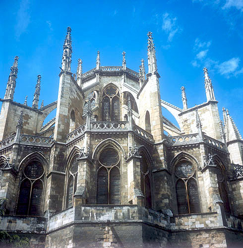 Leon Cathedral, chevet and lantern above high altar, fourteenth century, Leon, Spain