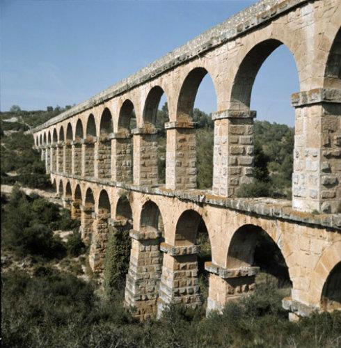 Spain, Tarragona, Roman aqueduct, 2nd Century AD