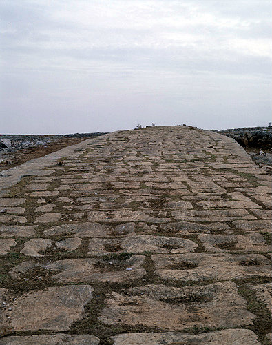 Syria, Roman road between Aleppo and Antioch